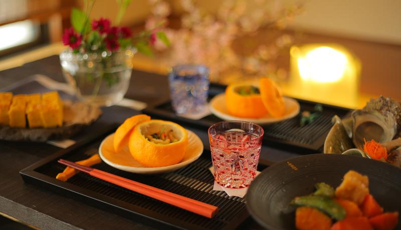 夫婦で、親子で過ごす時間がいとおしくなる、江戸切子のペア冷酒杯