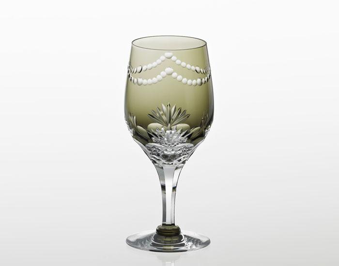 江戸切子 ワイングラス<万両>