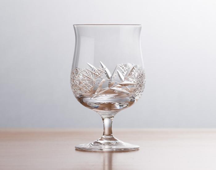 江戸切子 冷酒杯<和乃美> -竹-