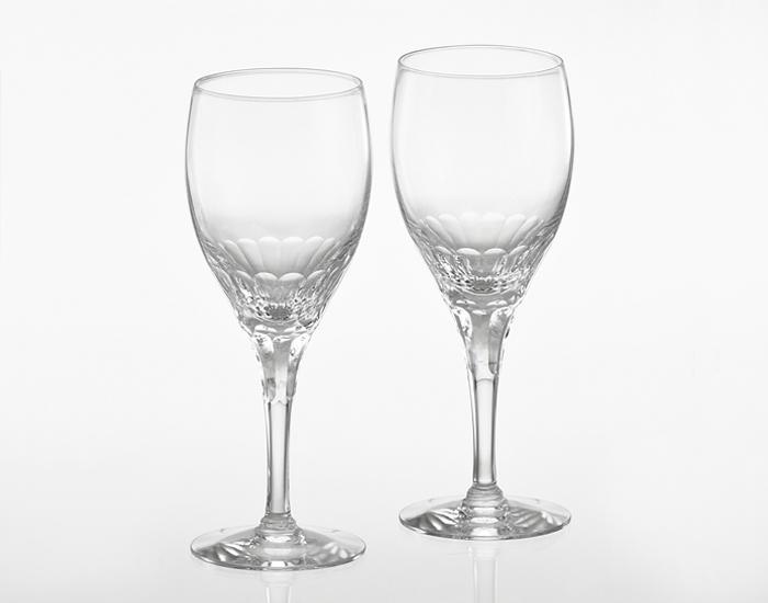 ペア赤ワイングラス<エクラン>